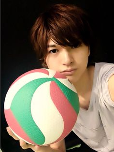 He's the Real Life Oikawa, indeed. Oikawa Tooru, Nishinoya, Iwaoi, Kageyama, Love Stage, Stage Play, Haikyuu Live Action, Boy Best Friend Pictures, King Of Cups