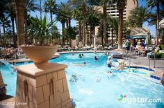 The Main Pool at the Hilton Grand Vacations Club On The Las Vegas Strip