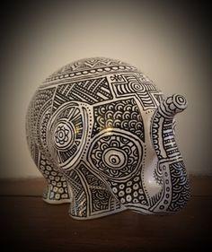 Made by me - mandala elephant #tijnuskanters