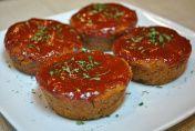 Mini Vegan Meat Loaves