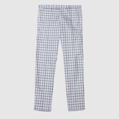 Check cotton twill 60's pant