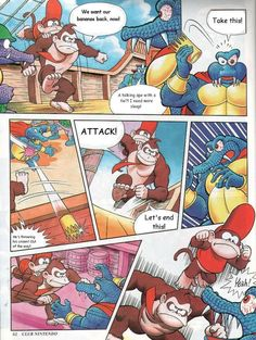 Super Nintendo, K Rool, Universe News, Donkey Kong Country, Underworld, Investigations, Mario, Two By Two, King