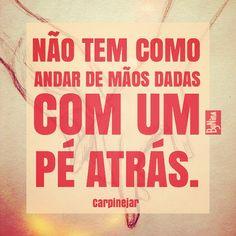 """@instabynina's photo: """"Confiança é tudo! ❤️ #frases #citações #carpinejar #confiança #amor #instabynina"""""""
