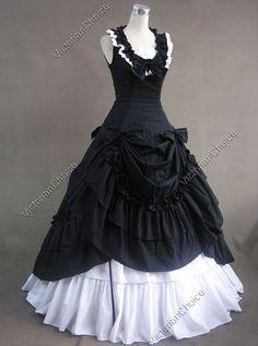 Civil War Southern Belle Lolita Ball Gown Dress