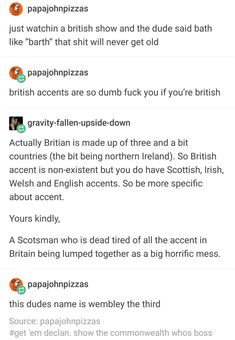 When a Brit tried to be educational, but America wasn't having it: 22 Posts That Prove Americans, Aussies, Brits, And Canadians Are All Weirdos Funny Facts, Funny Relatable Memes, Weird Facts, Funny Quotes, America Jokes, Dumb Americans, Canadian Facts, Australian Memes, Little Memes