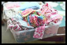 How to make a quilt from baby clothes....I have 7 years of clothes set aside for this! Now I have to do it!