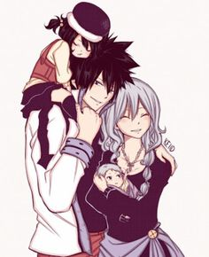 Image de fairy tail, anime, and gruvia Fairy Tail Gray, Fairy Tail Nalu, Fairy Tail Love, Fairy Tail Ships, Fairy Tail Ultear, Fairytail, Jellal, Gajeel E Levy, Zeref