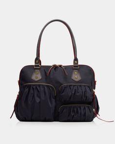 Dantes Inferno 7 Waterproof Leather Folded Messenger Nylon Bag Travel Tote Hopping Folding School Handbags