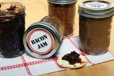 Homemade Bacon Jam. This would be good for holiday gifts if you pressure canned it.