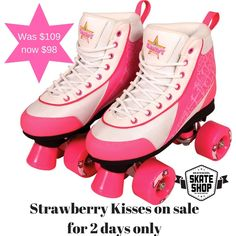 Kandy Strawberry Kisses on sale for two days only! Be quick