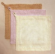 simple washcloths....for my left over cottons
