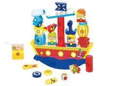 Accéder au produit Bateau Pirate, Donald Duck, Pirates, Disney Characters, Fictional Characters, Boutique, Educational Toys, Wooden Toys, Ladybug