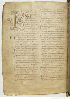 Cassiodorus - Expositio Psalmorum (BNF ms lat 2195) - folio 9v