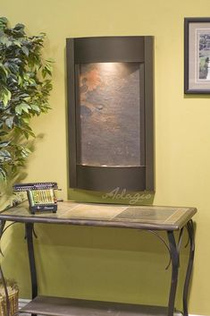Wall Water Features - Serene Waters Lightweight Slate Wall Water Feature