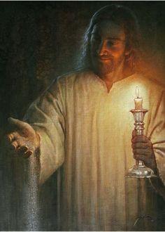 Salt and Light - Jesus King Jesus, God Jesus, Jesus Reyes, Jesus E Maria, Pictures Of Jesus Christ, Lds Art, Salt And Light, Jesus Face, Prophetic Art