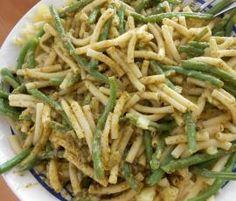Rezept Ligurische Nudeln von Heimchen - Rezept der Kategorie Hauptgerichte mit Gemüse