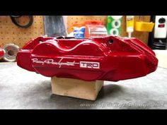 Painting Brake Calipers - YouTube