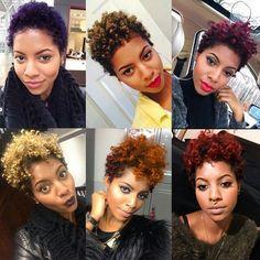 Hair: Wash in natural hair dyes. -purple. - light brown. -burgundy/violet. -blonde. -orange. -red.