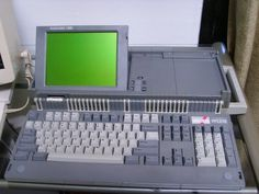 Photo of an Amstrad PCW8256
