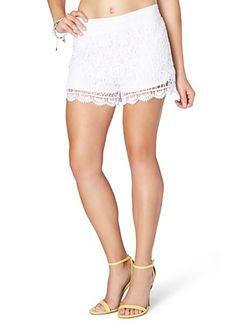 image of Floral Crochet Short
