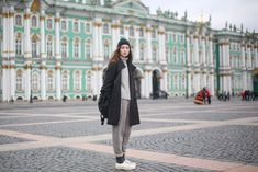 30 Transitional Outfits From Russian Fashion Week #refinery29  http://www.refinery29.com/2015/04/84890/russia-fashion-week-fall-2015#slide-22  Rolling your sweats means you can wear them to Fashion Week.