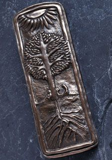 Wild Goose Studio Bronze Wall Plaque - Family Tree