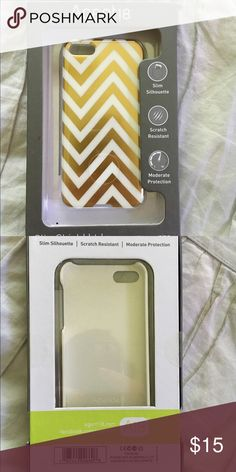 Gold Chevron iPhone 5/5s Case Brand new with box. Never used. No trades Agent 18 Accessories Phone Cases