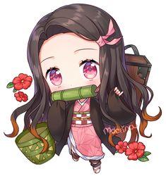 Kimetsu No Yaiba Chibi DJ. Bölüm Kimetsu No Yaiba'ya ait tadımlık çizimler ^^ Manga Kawaii, Loli Kawaii, Kawaii Anime Girl, Anime Art Girl, Anime Chibi, Comic Anime, Anime Comics, Manga Oku, Art Anime Fille