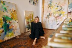 Studio Visit: Colleen Herman - DORÉ Greenwich Hotel, Roman And Williams, Surf Lodge, Clear Glass Vases, Glamour Shots, Easy To Love, Shirt Maker, Artist Life, Morning Light