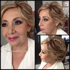 Makeup, hairstyle