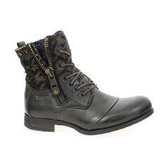 marque #BUNKER modèle ZIP couleur #Marron  Disponible en ligne www.bessec-chaussures.com et dans les magasins #Bessec chausseur depuis 1862