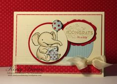 by Kirsty Brown...Kirsty's Cards n' Scrapping.  Stampin' Up!  SU