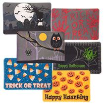 $1 Halloween door mat - I need this ASAP!  Hope they have it at  my #dollartree