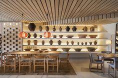 Restaurante Spot Mallorca.  Interior Design tarruella Trenchs Studio  #restaurant #encompañiadelobos #mallorca #interiordesign