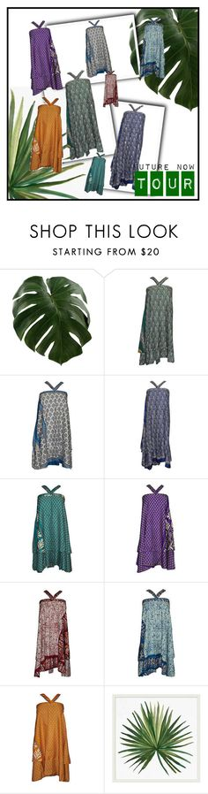 """""""Magic Halter Wrap Skirts"""" by india-trendzs ❤ liked on Polyvore featuring Pottery Barn"""