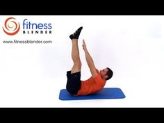 Quick At Home Abs and Obliques Workout Video, Fitness Blender