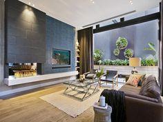 Alisa & Lysandra's lounge room on The Block 2014