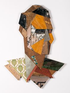 Mister Bruce - Recycled wood sculpture - Strook