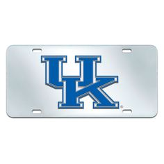 Kentucky Wildcats NCAA License Plate Inlaid