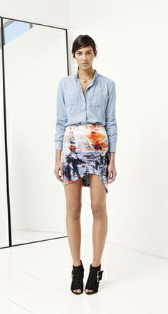 Something sexy with something causal - works well! Bec & Bridge - A/W 14