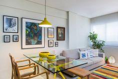 Integração com a Sala de Estar (de Bruno Sgrillo Arquitetura)