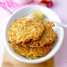 Kartoffelpuffer mit Apfelkompott PP 8