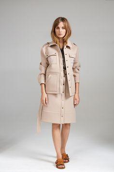DROP SHOULDER JACKET, CROP SHIRT AND HIGH WAIST SAFARI SKIRT Crop Shirt, Safari, High Waist, Women Wear, Drop, Contemporary, Shoulder, Coat, Skirts