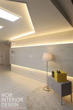 False Ceiling Living Room, Living Room Lighting, Interior Architecture, Interior Design, Urban Decor, Space Interiors, False Ceiling Design, Ceiling Decor, Living Room Interior