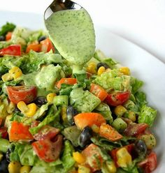 Colorful Southwestern Salad – The Happiest Blog