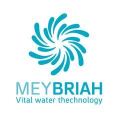 "LOGO Design by Curly Black - design & concept Studio - UX | UI | Branding | Packaging Design | סטודיו קרלי בלק - עיצוב חווית משתמש | מיתוג ועיצוב אריזות | עיצוב אריזות | עיצוב לוגו | תדמית - Logo Design for ""MeyBriah"" (Water of Creation) - Vital Water Technology עיצוב לוגו לחברת מיבריאה שמביאה את הטכנולוגיה והקידמה בכל תחום המים החיים לבית ולעסקים."
