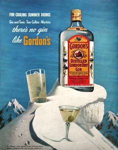 16 Best Vintage Gin Posters images in 2017 | Gin, Tonic, Gin