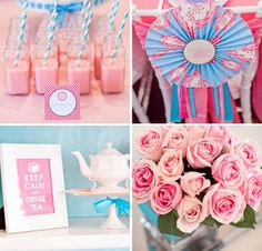 Beautiful} Tea Party for Three