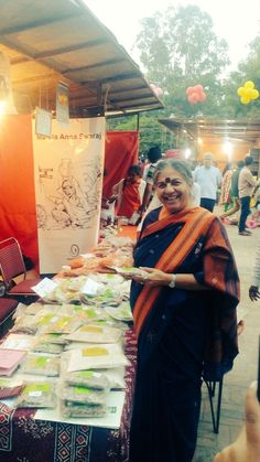 Dr Shiva at the Navdanya's 'Women of India Exhibition'