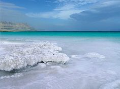 Dead Sea.. water without any fish that you effortlessly float in? Sign me up.